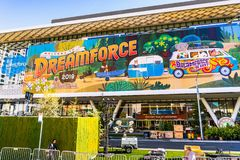 Free Nov 17, 2019 San Francisco / CA / USA - Dreamforce Annual Convention Taking Place At Moscone Center; Dreamforce Is An Annual User Royalty Free Stock Photography - 164198967