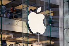 nov för 04 2011 Apple-datorer lager sydney Royaltyfri Fotografi