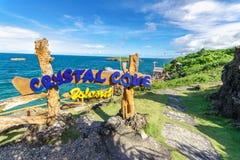 19,2017 nov. Fotostreek bij Crystal Cove-eiland, Boracay stock fotografie