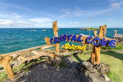 19,2017 nov. Fotostreek bij Crystal Cove-eiland, Boracay royalty-vrije stock fotografie
