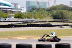 13 NOV 2016;GO KART RACER IN SHAH ALAM Royalty Free Stock Image