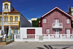 Nova πλευρών, $μπέιρα Litoral, Πορτογαλία, Ευρώπη Στοκ εικόνες με δικαίωμα ελεύθερης χρήσης
