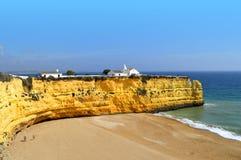 Nova Beach in Portugal Stock Photo