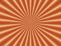 Nova de oro de la ilusión óptica Fotografía de archivo libre de regalías
