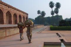 Nova Deli, India - novembro 2011 Imagem de Stock
