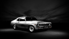 Nova 1968 di Chevrolet Fotografia Stock