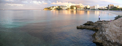 NOVA di Palma, Mallorca Fotografie Stock