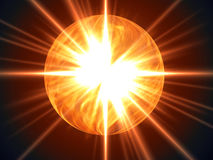 Nova fire ball Stock Photography