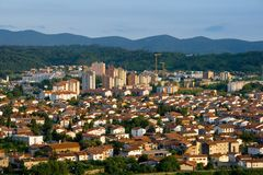 Nova Gorica. The town of Nova Gorica, situated near the italian border, Slovenia, Europe. Nova Gorica is widely known as a gambling and entertainment tourist Stock Image