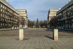 Nova Huta, Krakau, Polen lizenzfreie stockbilder