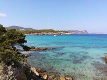 Nova Ibiza Cala lizenzfreie stockbilder