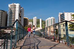 Nova Iguacu City Center Urban Scene Royalty Free Stock Images
