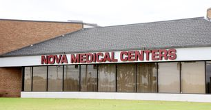 Nova Medical Center royaltyfri bild
