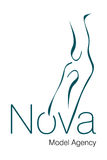 Nova Model Agency Logo Royalty Free Stock Photo