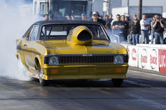 Nova drag car Stock Photography