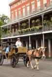 Nova Orleães - bairro francês Imagens de Stock Royalty Free