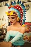 Nova Orleães - flutuador do carnaval imagem de stock