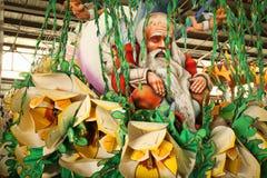 Nova Orleães - flutuador do carnaval foto de stock royalty free