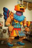 Nova Orleães - flutuador do carnaval imagens de stock
