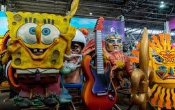 Nova Orleães Mardi Gras World Eclectic Collection Foto de Stock Royalty Free