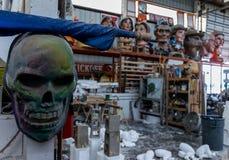 Nova Orleães Mardi Gras World Workshop Imagem de Stock Royalty Free