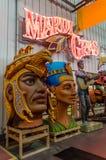 Nova Orleães Mardi Gras World Workshop Fotos de Stock