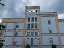 Nova Orleães o museu nacional da segunda guerra mundial Imagens de Stock Royalty Free