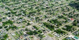 Nova Orleães suburbana imagem de stock royalty free