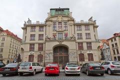 Nova radnice - New city hall in Prague Stock Photo