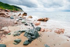 Nova Scotia Beach. Royalty Free Stock Images
