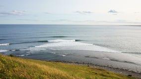 Nova scotia canada. Atlantic ocean view in nova scotia, canada royalty free stock photography