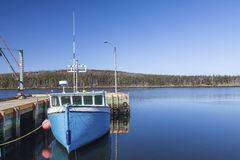 Nova Scotia Fishing Boat Stock Image