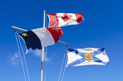 Nova Scotia Flag Royalty Free Stock Photos