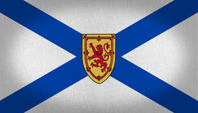 Nova Scotia flag Stock Photography