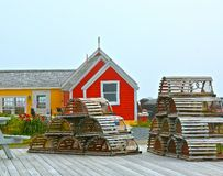 Nova Scotia Peggys Cove Photo libre de droits