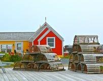 Nova Scotia Peggys Cove Royalty Free Stock Photo