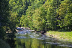 Nova Scotia River Royalty Free Stock Photo