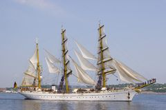 Nova Scotia Tall Ships Royalty Free Stock Image