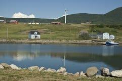 Nova Scotia Waterfront Stock Photo