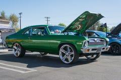 Nova ss di Chevrolet su ordinazione su esposizione Immagini Stock Libere da Diritti