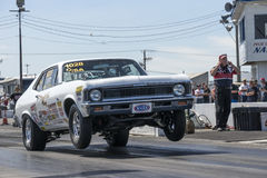 Nova wheelie Royalty Free Stock Images
