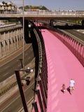 Nova Zelândia: trajeto Auckland da bicicleta Foto de Stock Royalty Free