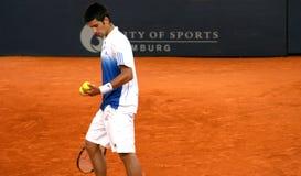 Novac Djokovic, Hamburgo 2008 Imagem de Stock