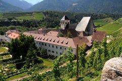 Novacella Monastery, Varna, Bolzano, Trentino Alto Adige. Italy royalty free stock images