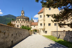 Novacella opactwo, Południowy Tyrol, Włochy Obrazy Royalty Free