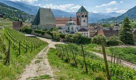 Novacella opactwo, Południowy Tyrol, Włochy Zdjęcie Stock