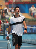Novak Djokovic at the 2010 China Open royalty free stock images