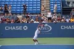 Novak Djokovic 免版税图库摄影