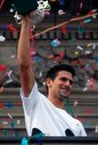 Novak Djokovic-3 Imagem de Stock