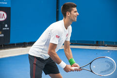 Novak Djokovic Lizenzfreie Stockfotos